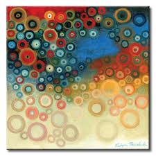 imagenes abstractas con circulos 32 kt002 a spheres ii cuadro abstracto circulos de color