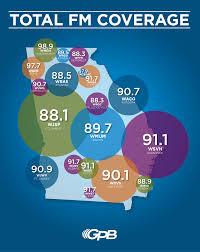 Atlanta On Map by Gpb Radio Stations Georgia Public Broadcasting