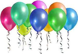 birthday balloons white 50 pcs birthday wedding party decor balloons tradesy