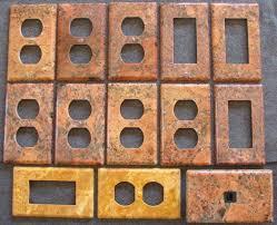 travertine light switch plates photo gallery of custom granite travertine marble stone switch