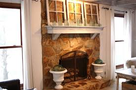 painted stone fireplaces before and after matakichi com best