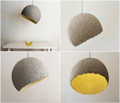 Paper Hanging Lamp Lamp Made From Paper Waste Globe U2022 Recyclart