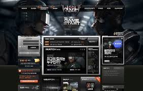 gaming design 30 stunning website design the design inspiration