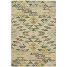 Aqua Area Rug Loloi Gemology Rug Ivory Aqua Gq 03 Contemporary Area Rugs