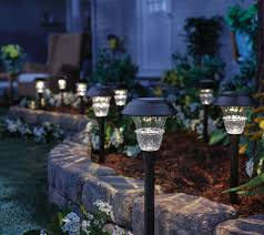 desert steel solar lights duracell 8 piece 10 lumen solar landscape light set page 1 qvc com