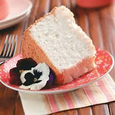 heavenly angel food cake recipe taste of home