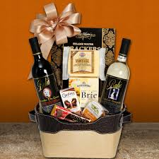 wine and cheese gift baskets vintage wine and cheese tote