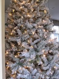 sears trees clearance pre lit
