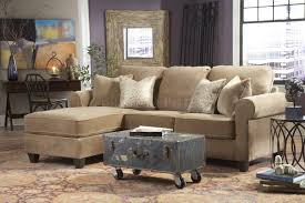 Reversible Sectional Sofas by Trump Coco Tan Fabric Contemporary Reversible Sectional Sofa