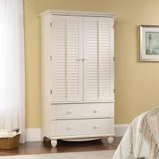 white nursery armoire