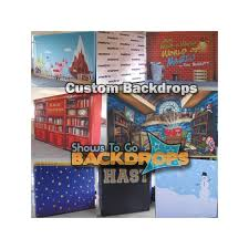 custom photo backdrops 10x8 10ft x 8ft custom printed self contained portable backdrop