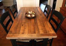 butcher block table and chairs farm style dining room table set farmhouse with natural butcher