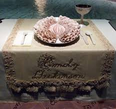 judy chicago dinner table ipernity setting for emily dickinson in the dinner party by judy