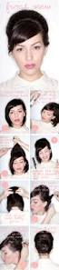 how to do an updo in short hair hair romance