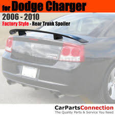 2010 dodge charger spoiler spoilers wings for dodge charger ebay