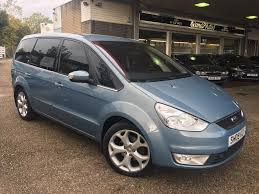 blue galaxy car used ford galaxy 2 3 ghia 7 seater auto 38700 miles avalon blue