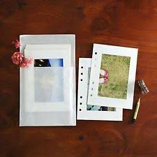 4x6 photo pages photo album refill pages 4x6 ebay