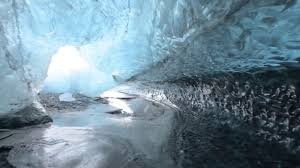 The Crystal Cave Iceland Breathtaking Walk Through The Glacial Ice Cave In Iceland Video