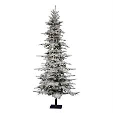 shop vickerman 7 ft 6 in 1 075 tip pre lit georgian fir slim