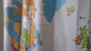 Shower Curtain World Map The New 2016 World Map Shower Curtain Youtube