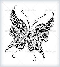 abstract butterfly design by silvertiger graphicriver