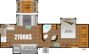 Open Range Fifth Wheel Floor Plans by Orv Black Stone 270rks