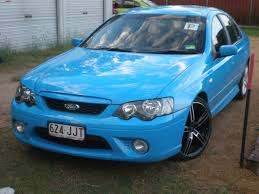 2006 ford falcon bf mkii xr6 boostcruising