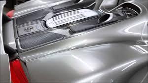 silver porsche spyder refined detail v liquid metal silver porsche 918 spider youtube
