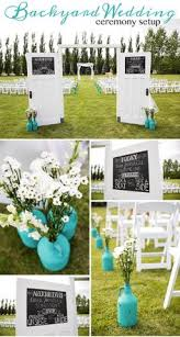 Fall Backyard Wedding by Simple Cute Spring Backyard Wedding Ideas Happywedd Com