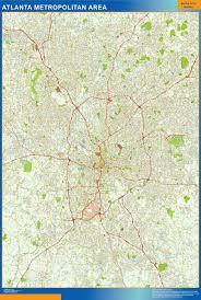 Crime Map Atlanta by Atlanta Street Map Jpg