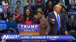 donald trump youtube channel fnn donald trump meets the notorious diamond and silk self