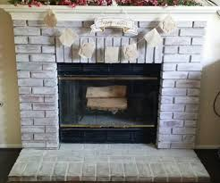 how to paint a brick fireplace with washable paint u2013 the stupid mom