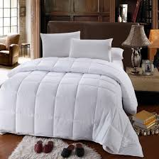 Home Design Down Alternative Comforter White Down Alternative Comforter All Season Medium Fill Weight