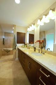 unfinished basement ideas for a tropical bathroom with kitchen remodel and by bath lighting gallery ferguson