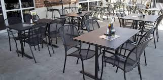 outdoor table cast aluminum patio furniture rattan furniture