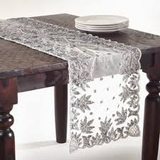 hand beaded table runners beaded table runner wayfair