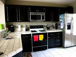 White Appliance Kitchen Ideas Bathroom Lovable Gothic Black Kitchen Cabinets The Inspiration