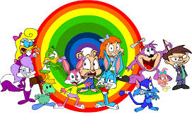 tiny toon adventures my attempt at some of the tiny toons by lazyradly on deviantart