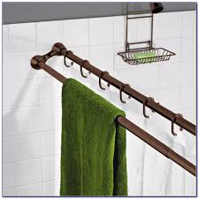 decor curtain rods bed bath and beyond bay window curtain rod