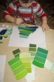 Different Names Of Green by Art And Soul Preschool A Little Green