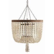 wood bead ceiling light splurge vs steal wood bead pendant light stylish savings