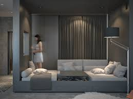 Harmony In Interior Design Living And Sleeping Areas Exist In Harmony In These Comfortable