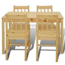 table cuisine 4 chaises set table cuisine avec 4 chaises table à manger en bois achat