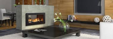 regency horizon hz42ste see through gas fireplace contemporary