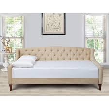 Tufted Upholstered Sofa by Jennifer Taylor Home Lucy Upholstered Daybed Hayneedle