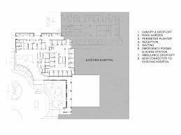 canopy floor plan gallery of methodist south emergency department addition brg3s