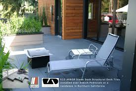 interlocking deck tiles patio modern with decking tiles