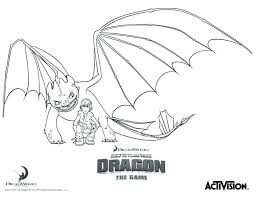 night fury coloring page hiccup and night fury how to train your
