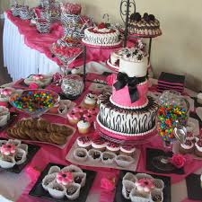 sweet 16 table decorations inexpensive table decorations chocolate party pink themed wedding