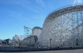 Six Flags Scary Rides りす家in San Bernardino 絶叫編 Six Flags Dec30 ロサンゼルス